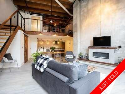 Gastown Condo for sale:  1 bedroom 1,181 sq.ft. (Listed 2020-02-14)